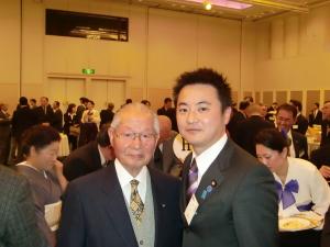 20100106連合宮崎旗開きにて野別先生