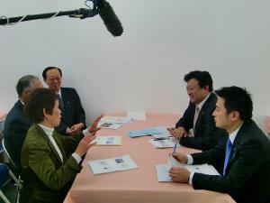 20100109渡辺副大臣大塚台生目台ふれあいルーム視察1