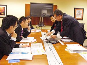 ダウト労働省雇用訓練局政策統括官と意見交換